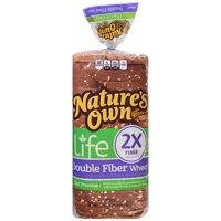 Nature's Own® Life Double Fiber Wheat Bread 20 oz. Bag