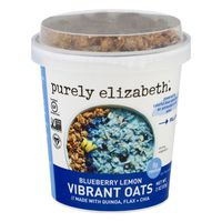 Purely Elizabeth Vibrant Oats Blueberry Lemon