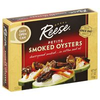 Reese Smoked Oysters, Petite