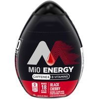 MiO Energy Black Cherry Liquid Water Enhancer, Caffeinated