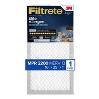 Filtrete Elite Allergen Reduction Filter, 16 in x 25 in x 1 in, MPR 2200, 1 Pack