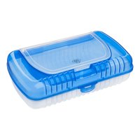 Pen + Gear Blue Double Decker Pencil Box