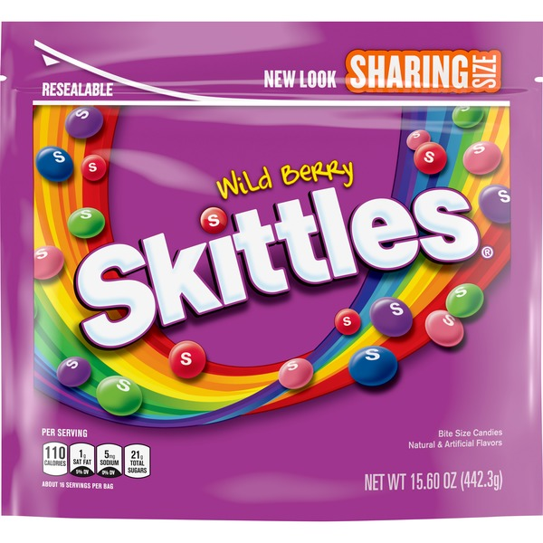 Skittles Wild Berry Sharing Size Candy