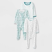 Baby 3pk Llama Love Zip Sleep N' Play Pajama - Cloud Island™