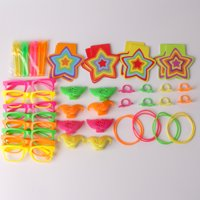 Way To Celebrate Neon Party Favors, 48ct