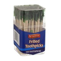 Acadian Trading Toothpicks, Frilled