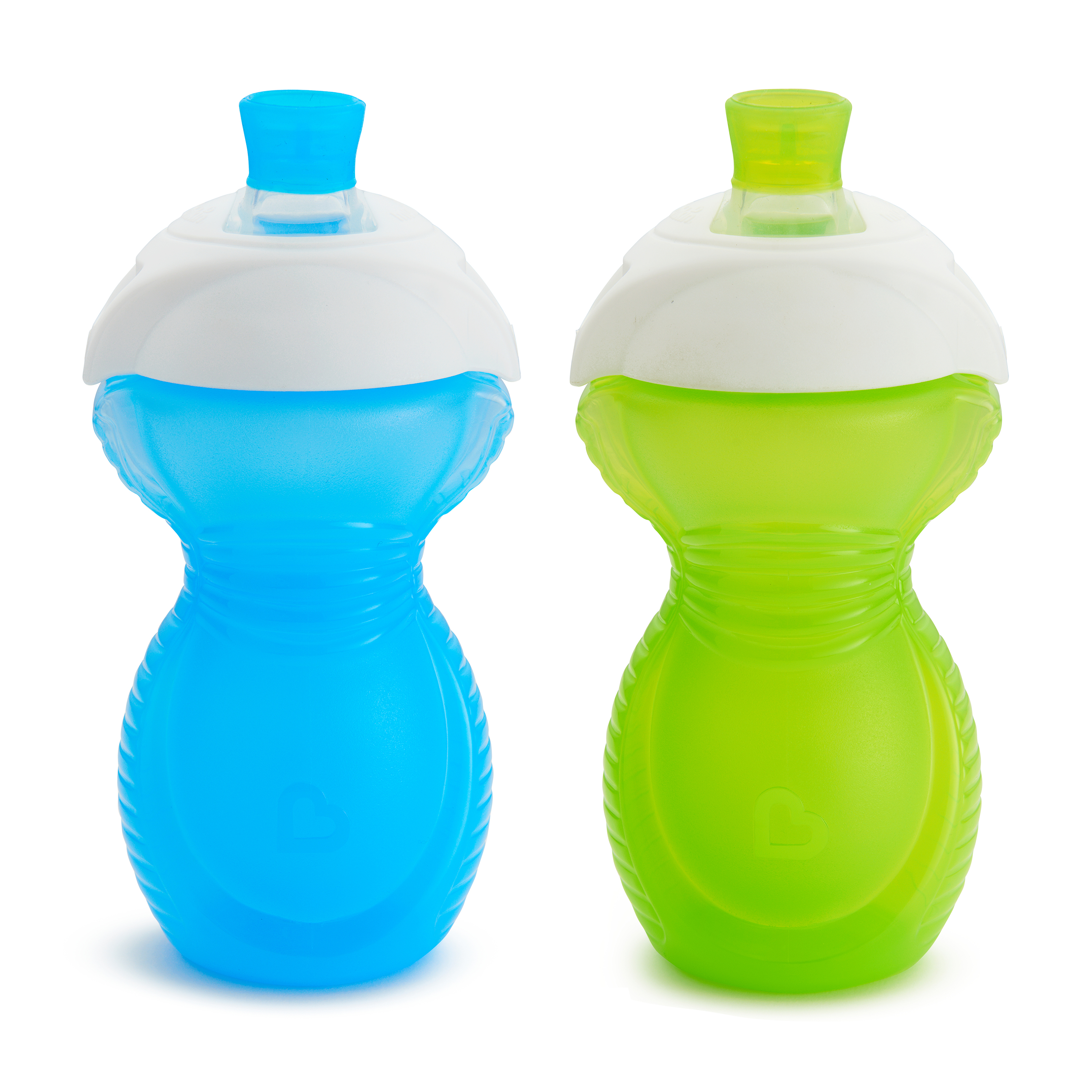 Munchkin Click-Lock Bite Proof Soft Spout Sippy Cup, 9oz, Color May Vary, 2 Pack