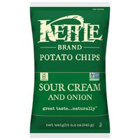 Kettle Brand Brand Potato Chips Sour Cream and Onion