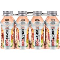 BodyArmor Sports Drink, Lyte, Peach Mango, 8 Pack