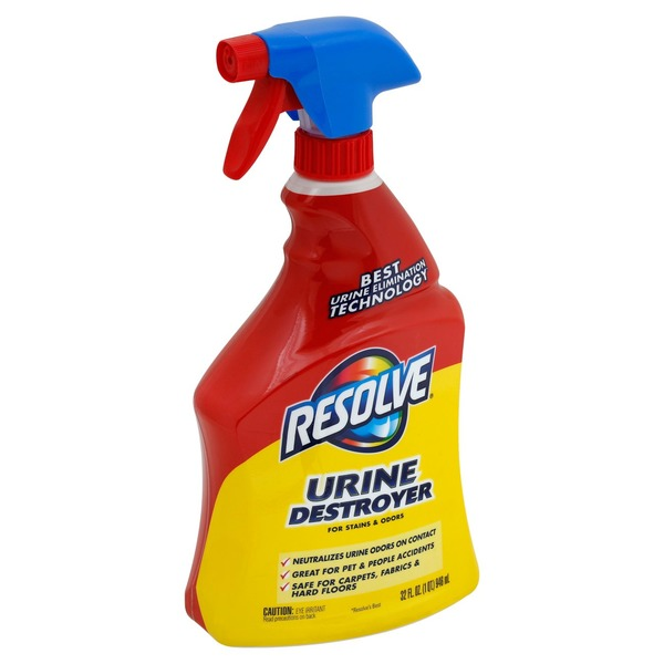 Resolve Urine Destroyer, for Stains & Odors