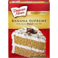 Duncan Hines Signature Banana Supreme Cake Mix