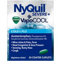 Vicks VapoCOOL  Nighttime Cough, Cold and flu relief