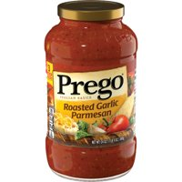 Prego Pasta Sauce, Italian Tomato Sauce with Roasted Garlic & Parmesan Cheese, 24 Ounce Jar