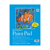 Strathmore 100 Series Paint Pad, Kids Watercolor Paper Artist Pad, 9