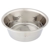 Vibrant Life Stainless Steel Dog Bowl with Paws
