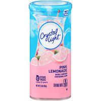 Crystal Light Pink Lemonade Powdered Drink Mix, Caffeinated
