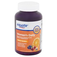 Equate Women's Daily Adult Gummies, 150 count