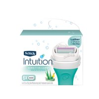 Schick Intuition Sensitive Care Women's Razor Blade Refills, 6 Ct