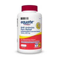 Equate Acetaminophen Extended-Release Tablets, 650 mg, Arthritis Pain 325 Count