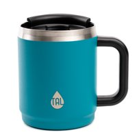 TAL 14 Ounce Teal Stainless Steel Boulder Travel Mug