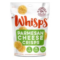 Whisps Parmesan Cheese Crackers - 2.12oz