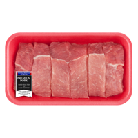 Pork Country Style Ribs Boneless, 1.1 - 1.9 lb