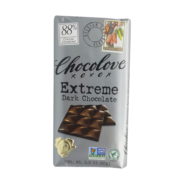 Chocolove Extreme 88% Dark Chocolate, 3.2 oz