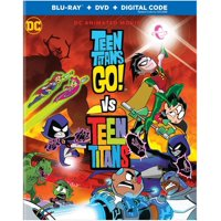 Teen Titans Go! Vs. Teen Titans (Blu-ray + DVD)