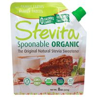 Stevita Sweetener, Natural Stevia, Organic, The Original