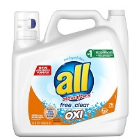 All Ultra Oxi HE Liquid Laundry Detergents