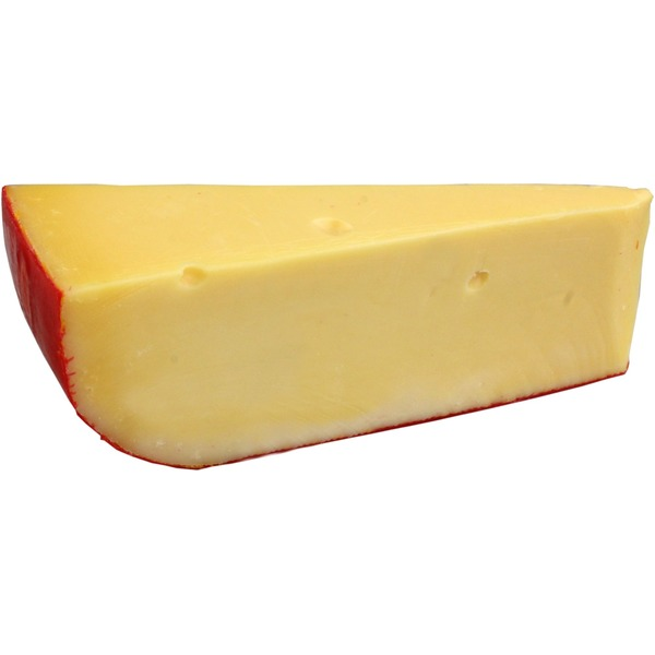 Central Market 45 Day Red Wax Gouda Cheese