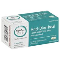 Signature Anti-Diarrheal, 2 mg, Caplets
