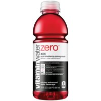 Vitamin Water Zero XXX Acai-Blueberry Pomegranate, 20 Fl. Oz.