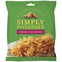 Crystal Farms, Simply Potatoes Shredded Hash Browns, 20 Oz.
