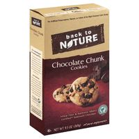 Back to Nature Cookies, Chocolate Chunk