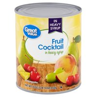 Great Value Fruit Cocktail in Heavy Syrup, 30 oz