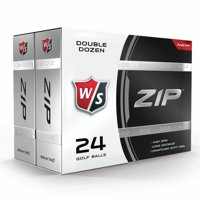 Wilson Staff Zip Golf Balls 24 Ball Pack (2 boxes containing 12 balls each)