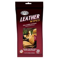Auto Drive Leather Wipes -27 wipe count