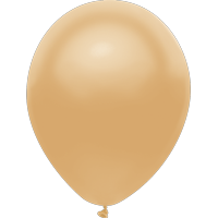"Way To Celebrate 12 Ct. 12"" Plain Gold Balloons"