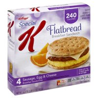 Kelloggs Special K Frozen Breakfast Sandwiches 4 ct