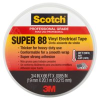 Scotch Electrical Tape 88 3/4 in. x 66 ft., 1 Roll