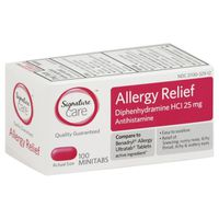 Signature Care Allergy Relief