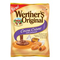 Storck Werther's Original Cocoa Cr&acuteme Soft Caramel Candies, 4.51 Oz.
