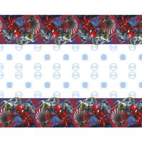 Spiderman Plastic Party Tablecloth, 84 x 54in
