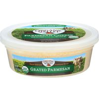 Organic Valley Grated Parmesan Cheese