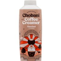 Chobani Coffee Creamer, Hazelnut, Carton