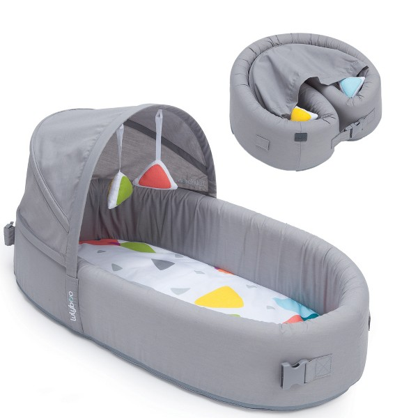 Lulyboo Portable Baby Bassinet To-Go Infant Travel Sleeper