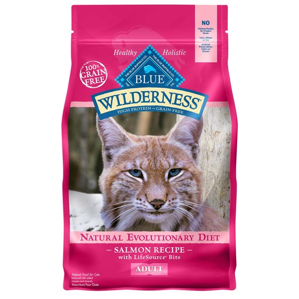 Blue Buffalo Wilderness Natural Evolutionary Diet Salmon Recipe Adult Natural Food For Dogs