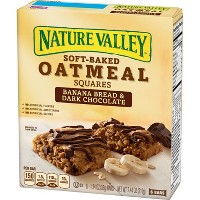 Nature Valley Soft-Baked Banana Bread And Dark Chocolate Oatmeal Squares - 7.44oz
