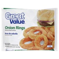 Great Value Onion Rings, 16 oz